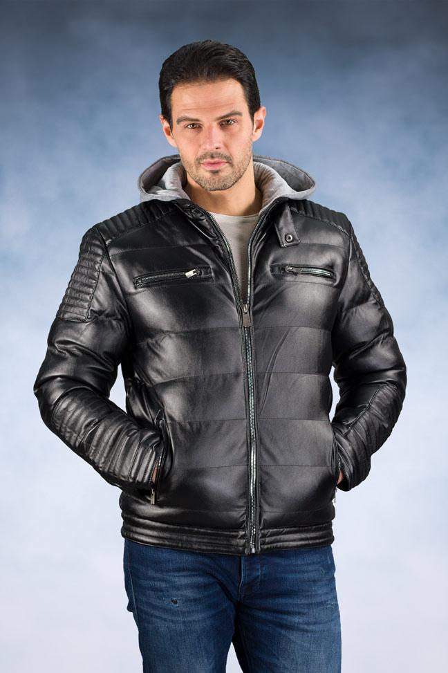 Muška zimska jakna - Sportska i Casual - 4667 - Crna