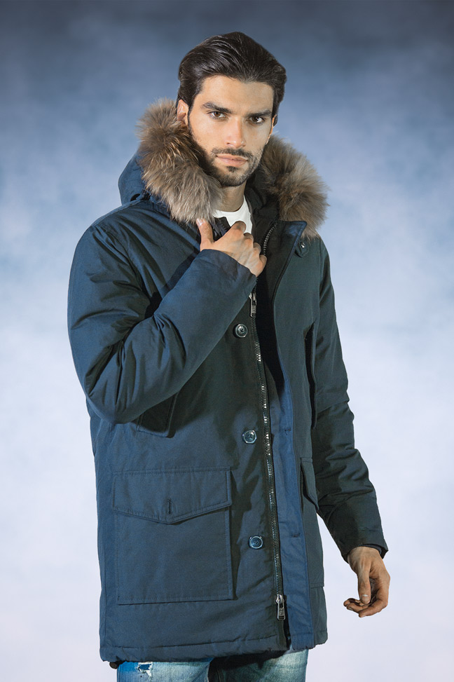 Muška zimska jakna-Sportska i Casual-Staff Aldo-Teget