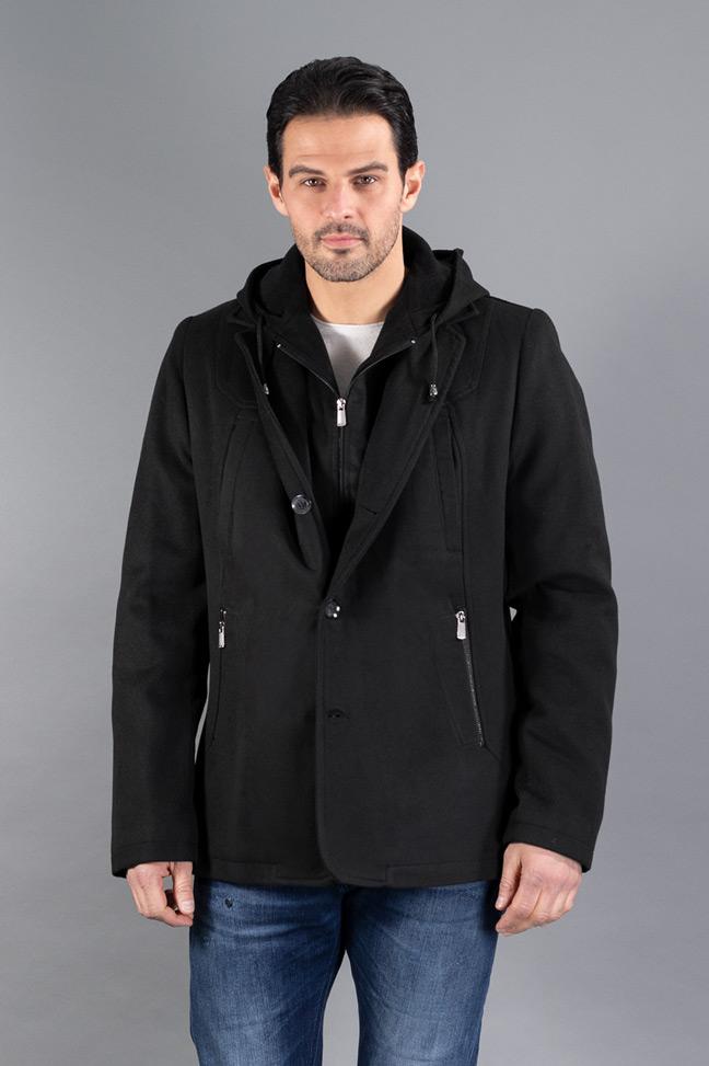 Muški kaput - 0300 - Crna