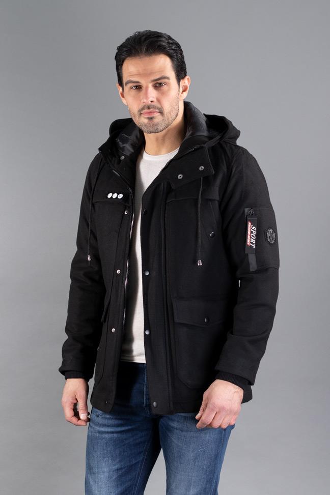 Muški kaput - 0316 - Crna