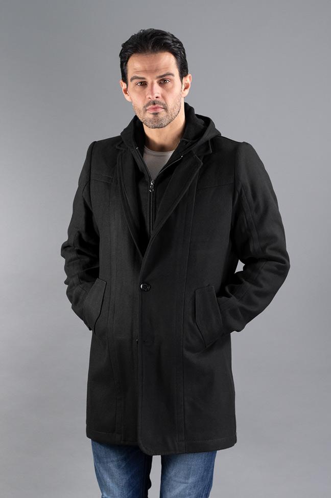 Muški kaput - 0328 - Crna