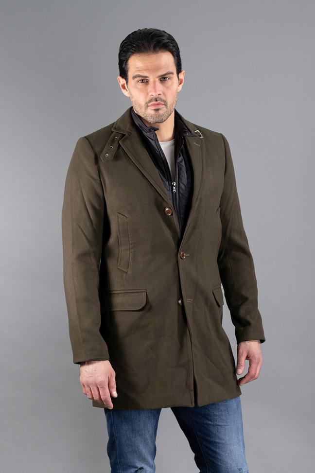 Muški kaput - 0508 - Maslinasta