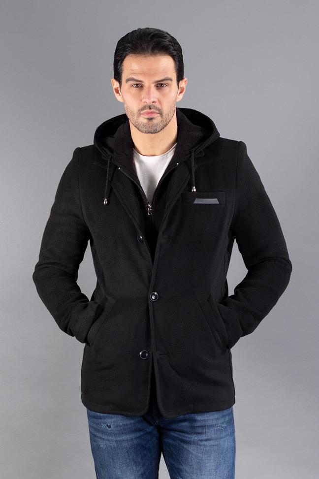 Muški kaput - 0697 - Crna