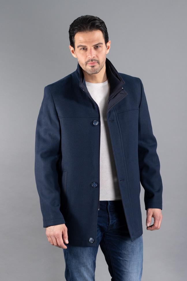 Muški kaput - 102 - Teget