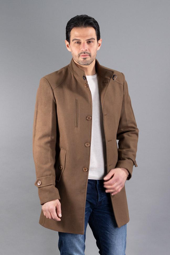 Muški kaput - 234-133 - Braon