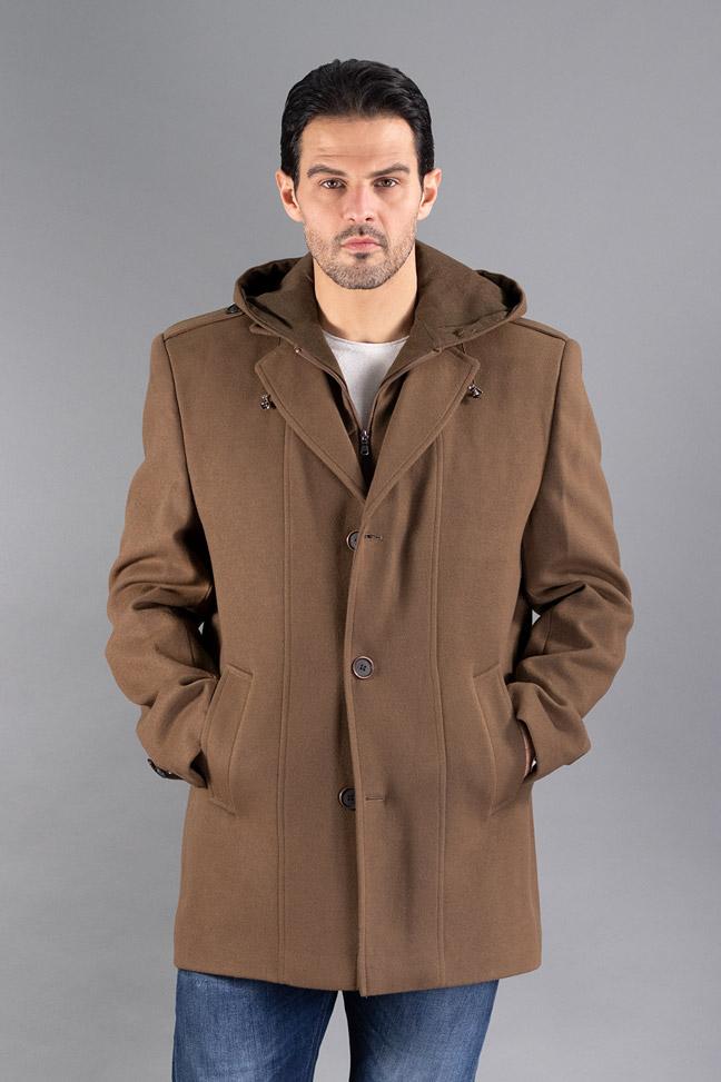 Muški kaput - 333 - Braon