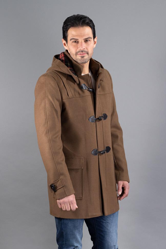 Muški kaput - 4102 - Braon