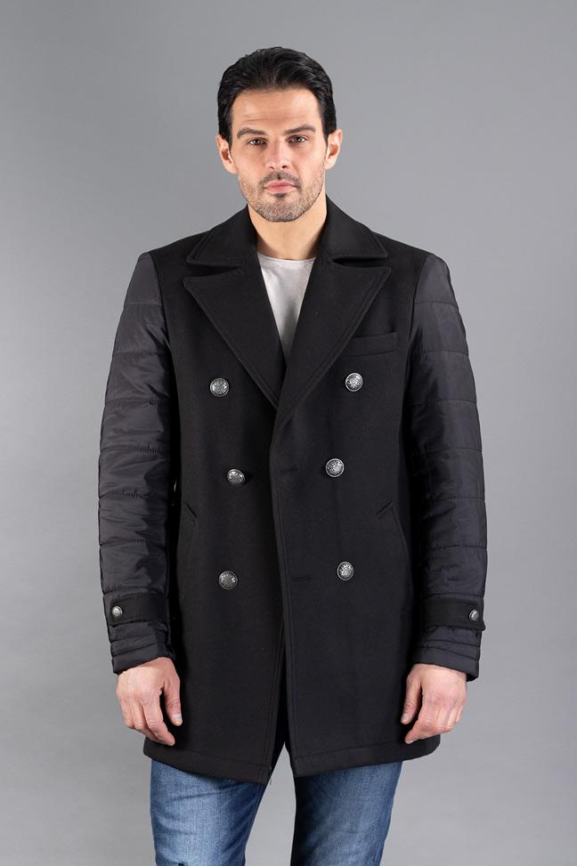 Muški kaput - 4103 - Crna