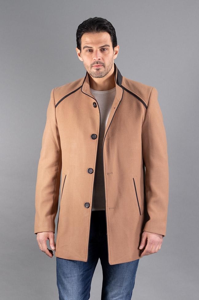 Muški kaput - 590 - Bež