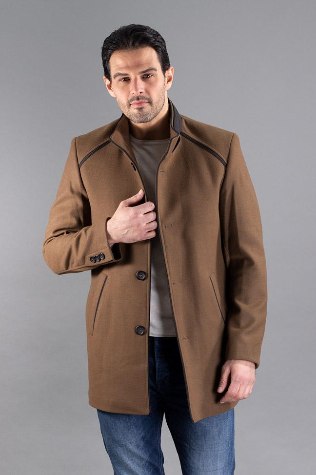 Muški kaput - 590 - Braon