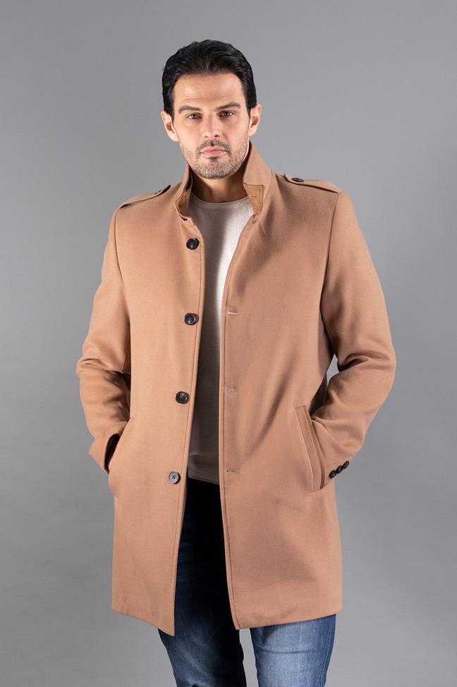 Muški kaput - 607 - Bež