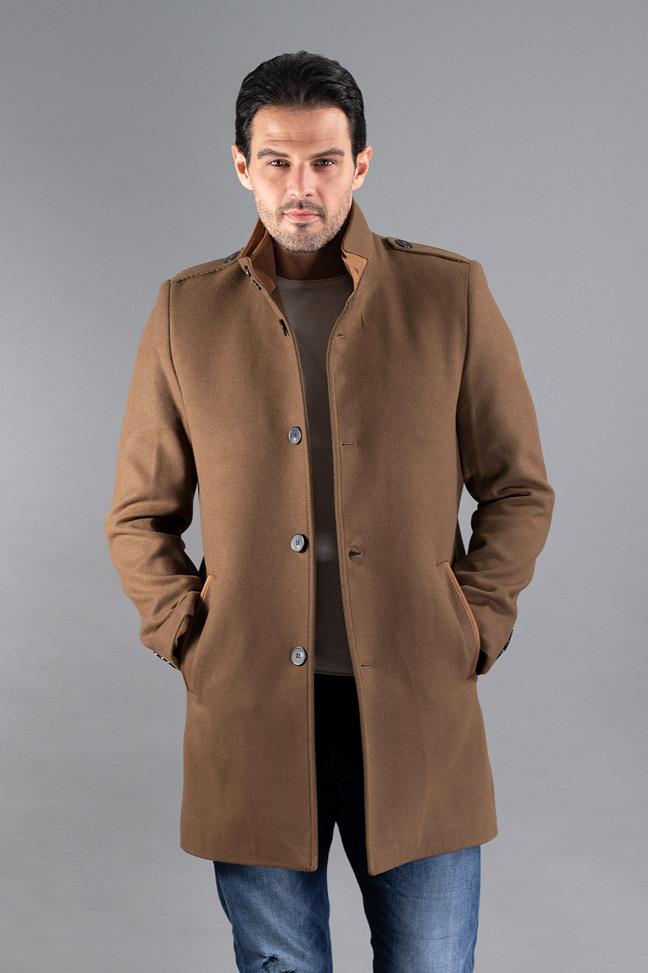 Muški kaput - 607 - Braon