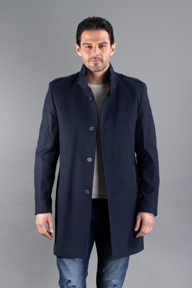 Muški kaput - 607 - Teget