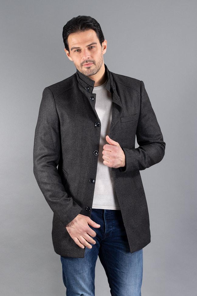Muški kaput - TC480 - Tamno siva