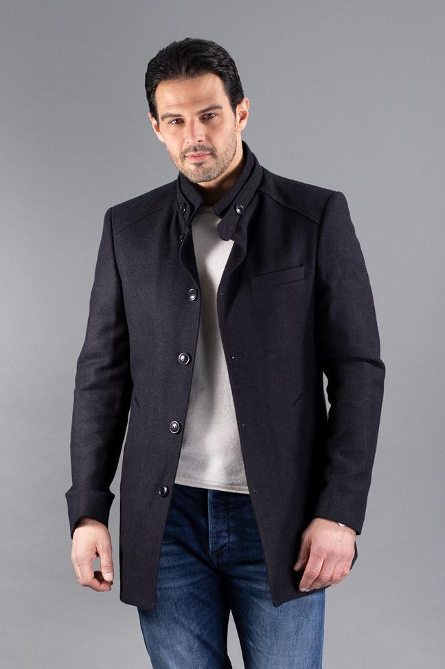 Muški kaput - TC480 - Tamno teget
