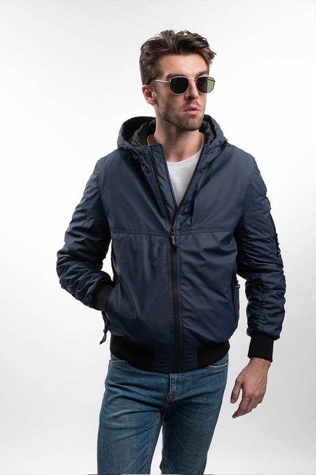 Muška prolećna jakna - Sportska i Casual - Invento Norman - Plava