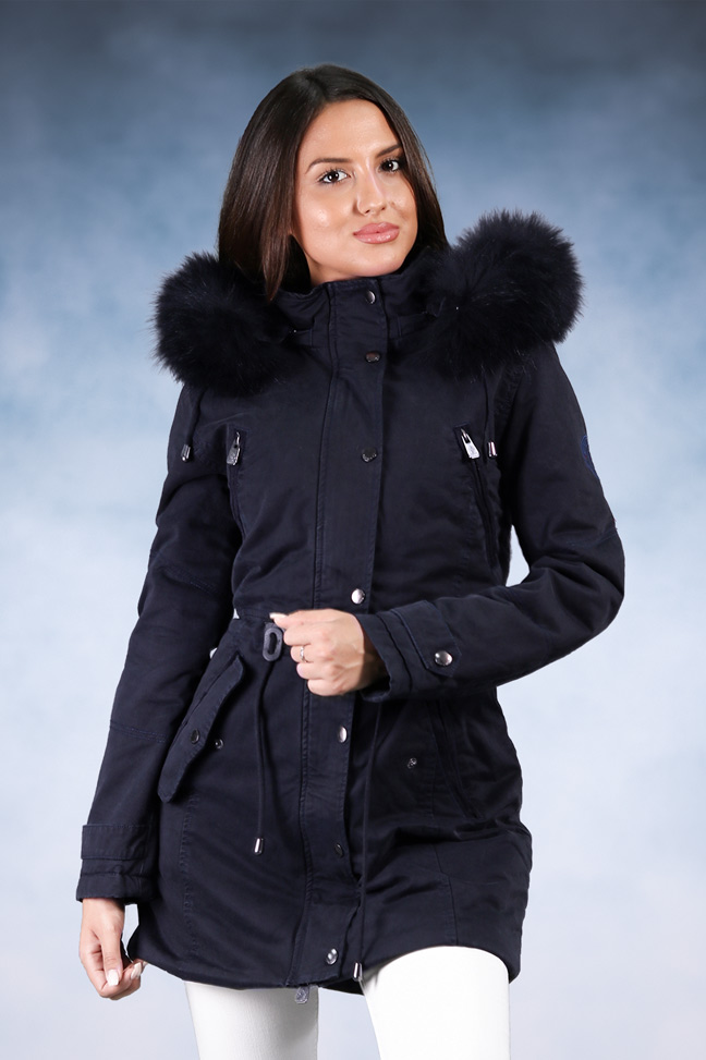 Ženska zimska jakna - Sportska i Casual - Invento Iskra - Teget