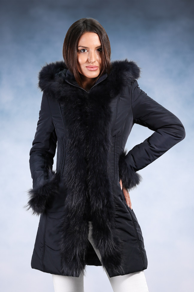 Ženska zimska jakna - Sportska i Casual - Invento Laura - Teget