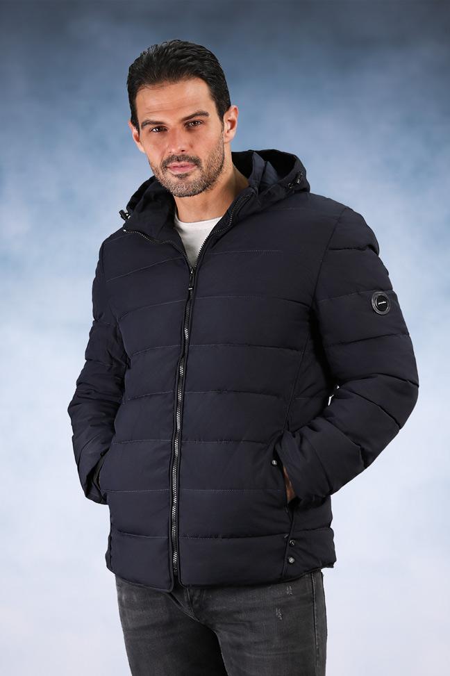 Muška zimska jakna - Sportska i Casual - 810 - Teget