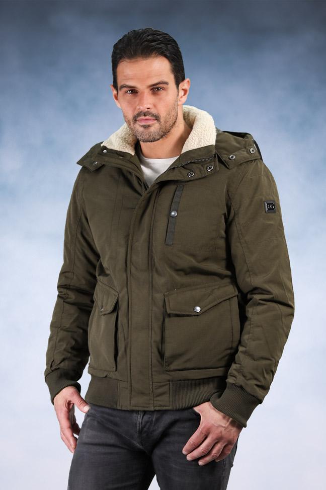 Muška zimska jakna – Sportska i Casual – M-3 – Zelena