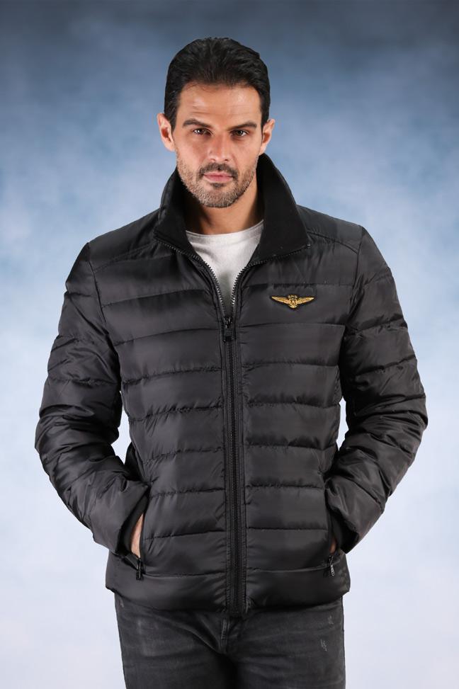 Muška zimska jakna - Sportska i Casual - Staff Nori - Crna