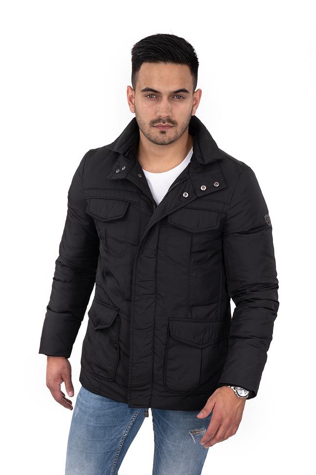Muška zimska jakna - Sportska i Casual - Invento Artur - Crna