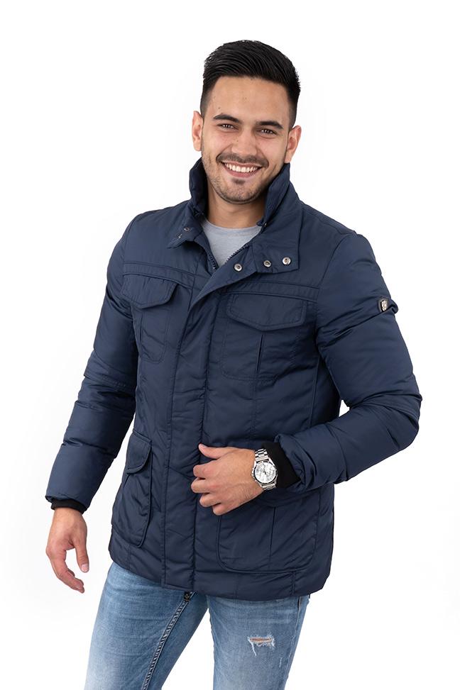 Muška zimska jakna - Sportska i Casual - Invento Artur - Teget