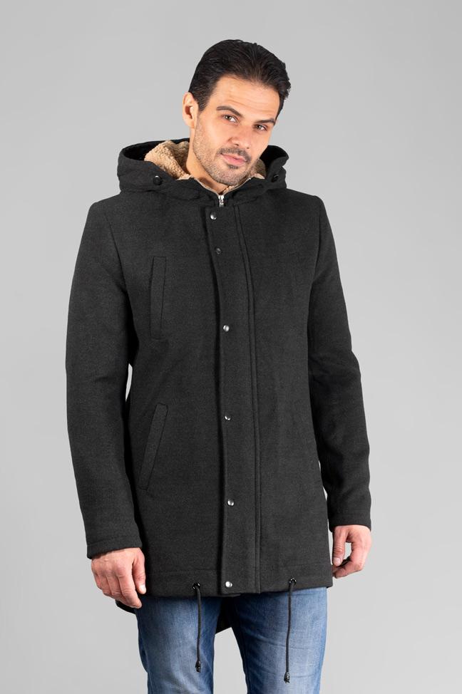 Muški kaput - IK0355 - Siva