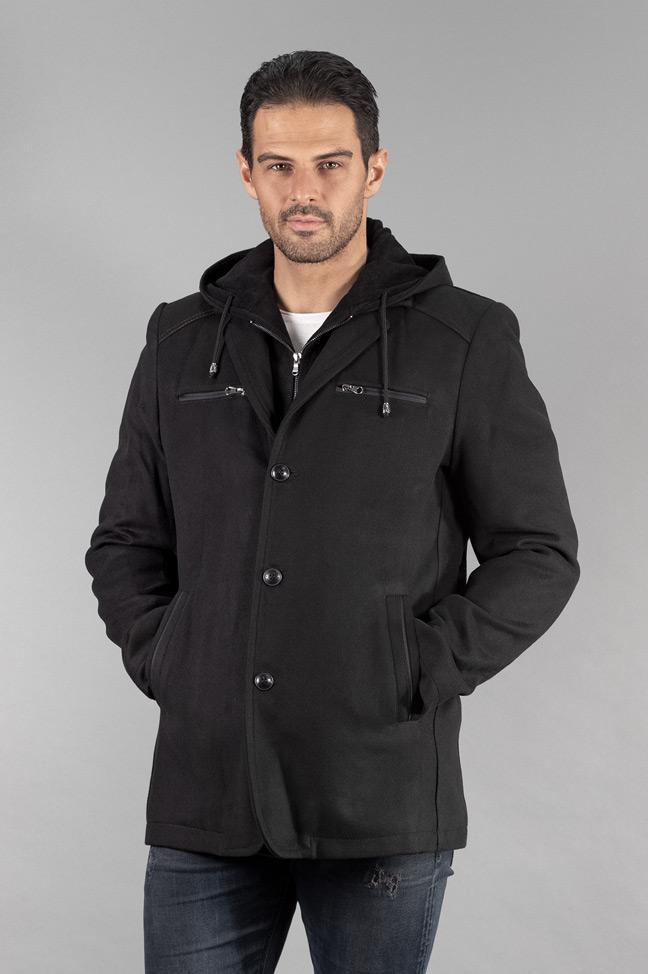 Muški kaput - 289 - Crna