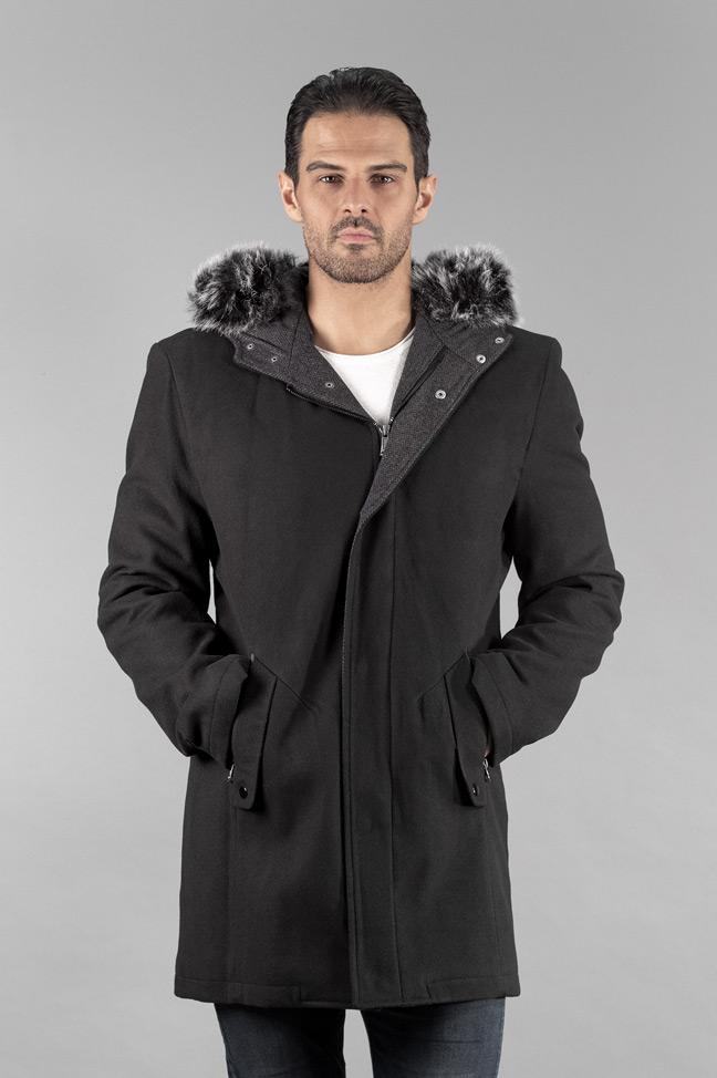 Muški kaput - 307 - Crna