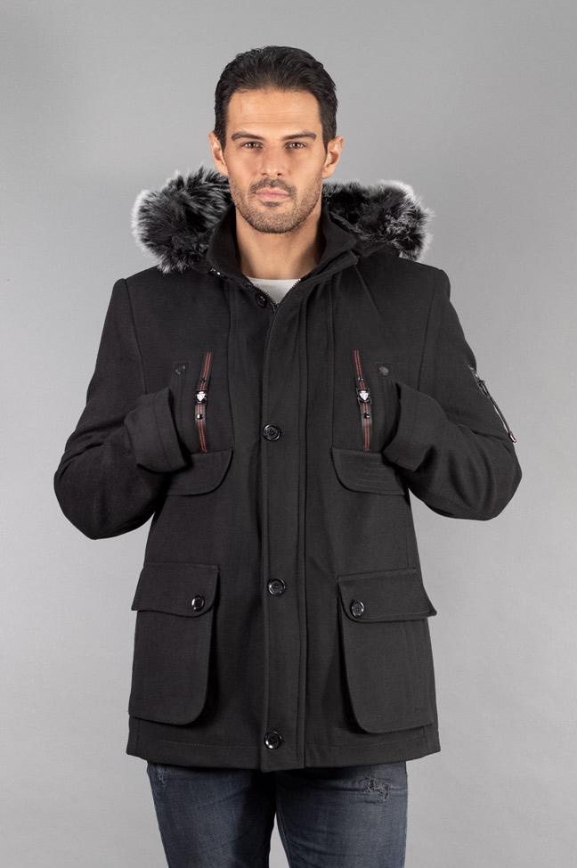 Muški kaput - 311 - Crna