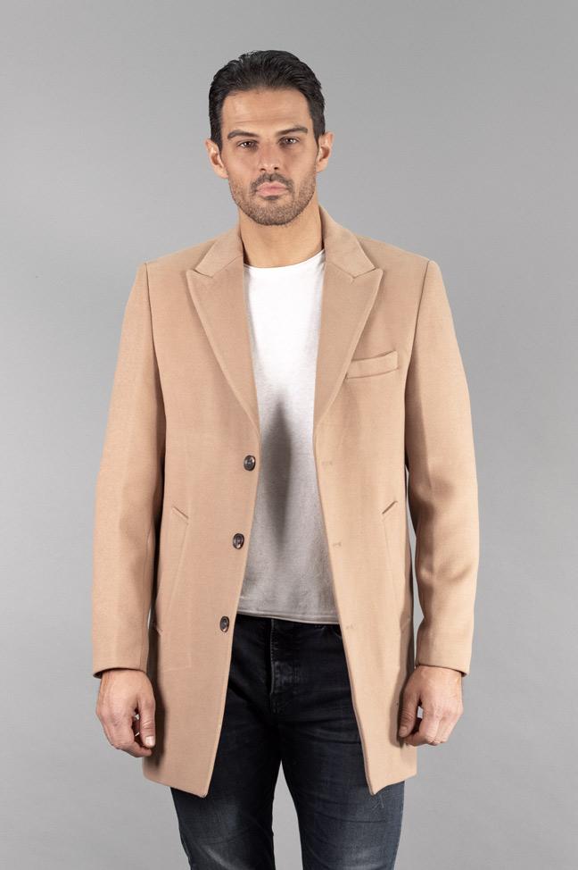 Muški kaput - 31183 - Bež