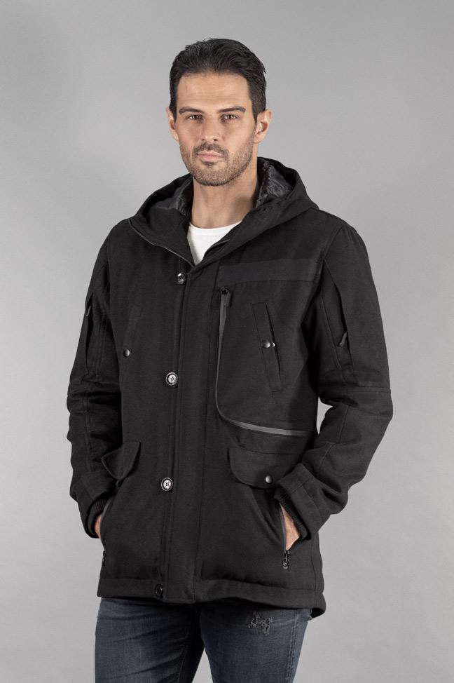 Muški kaput - 318 - Crna