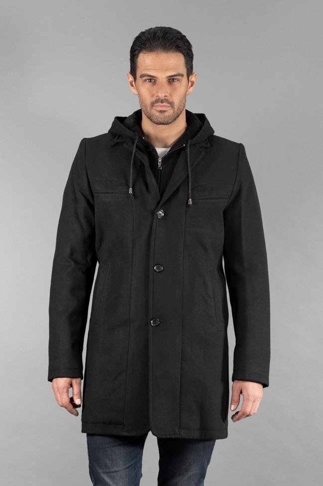 Muški kaput - 322 - Crna