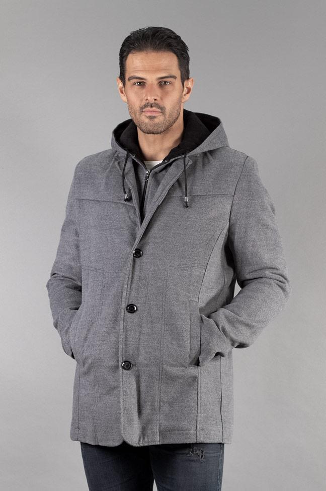 Muški kaput - 331 - Svetlo siva
