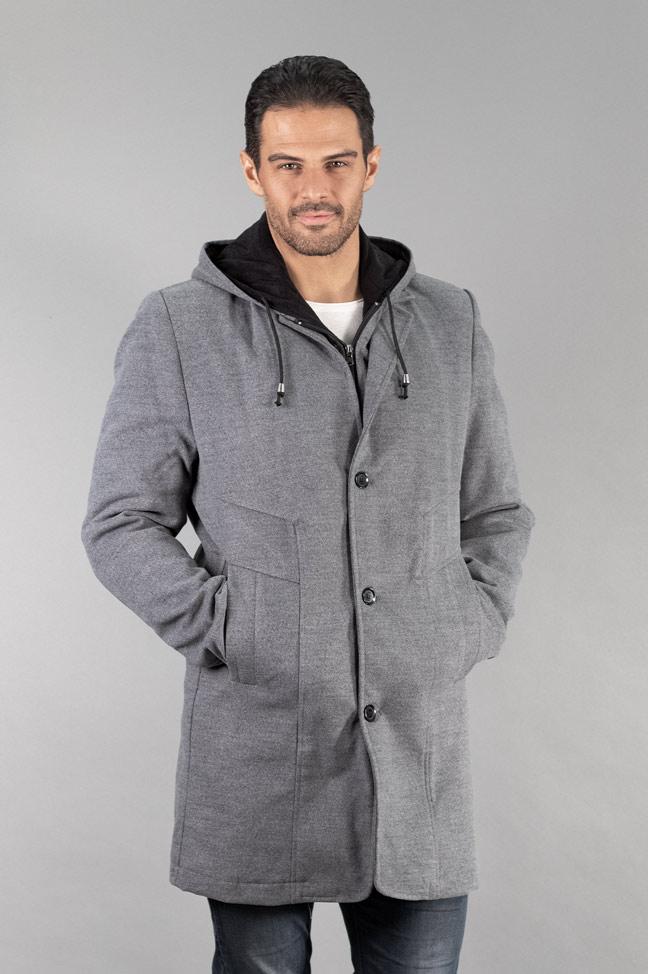 Muški kaput - 334 - Svetlo siva