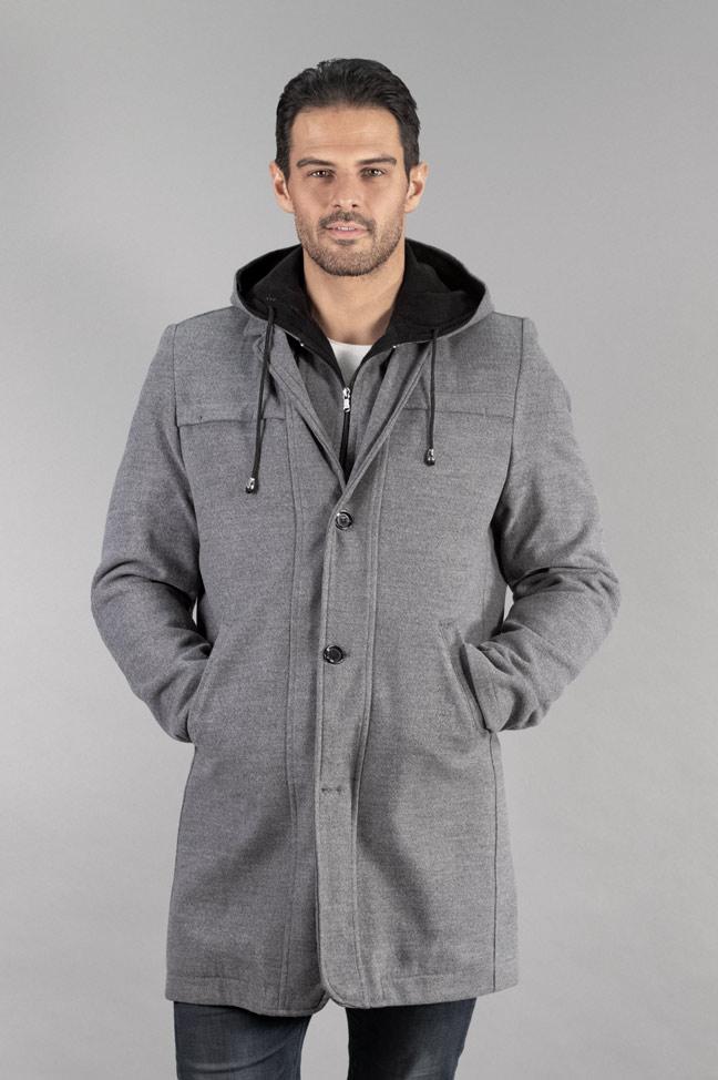 Muški kaput - 335 - Siva