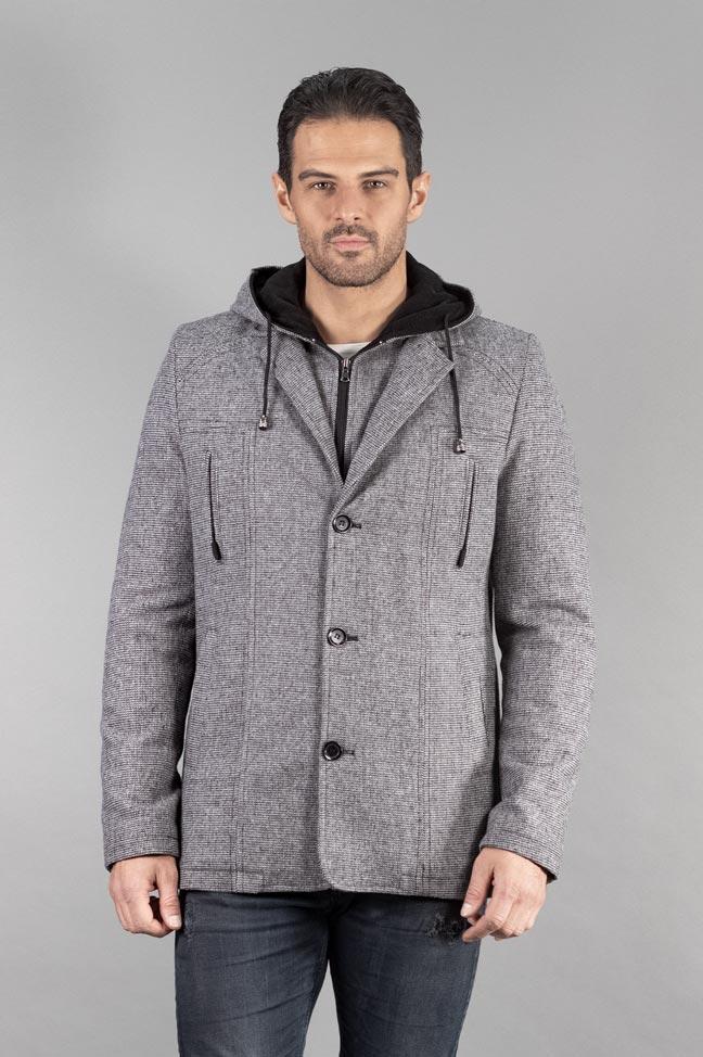 Muški kaput - 336 - Svetlo siva