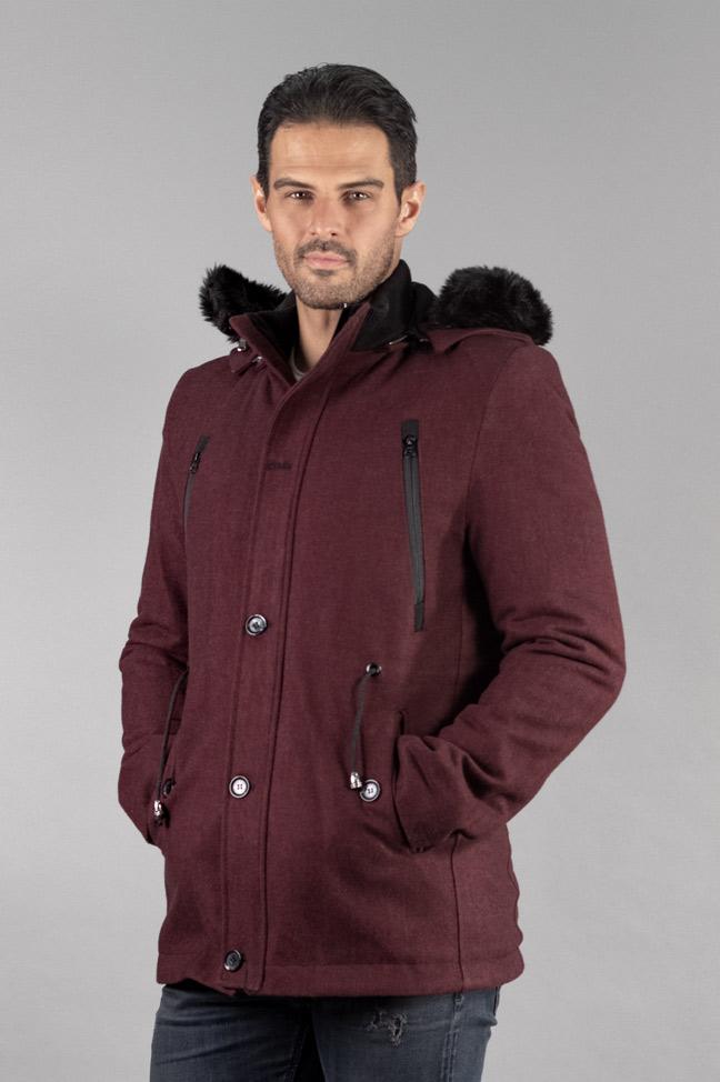 Muški kaput - 338 - Bordo