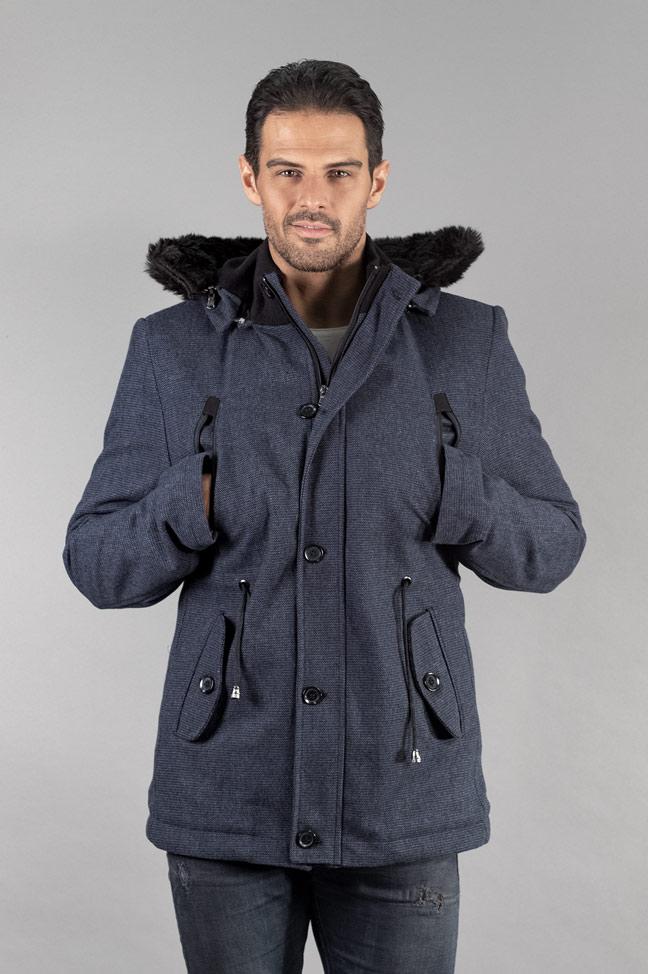 Muški kaput - 338 - Teget