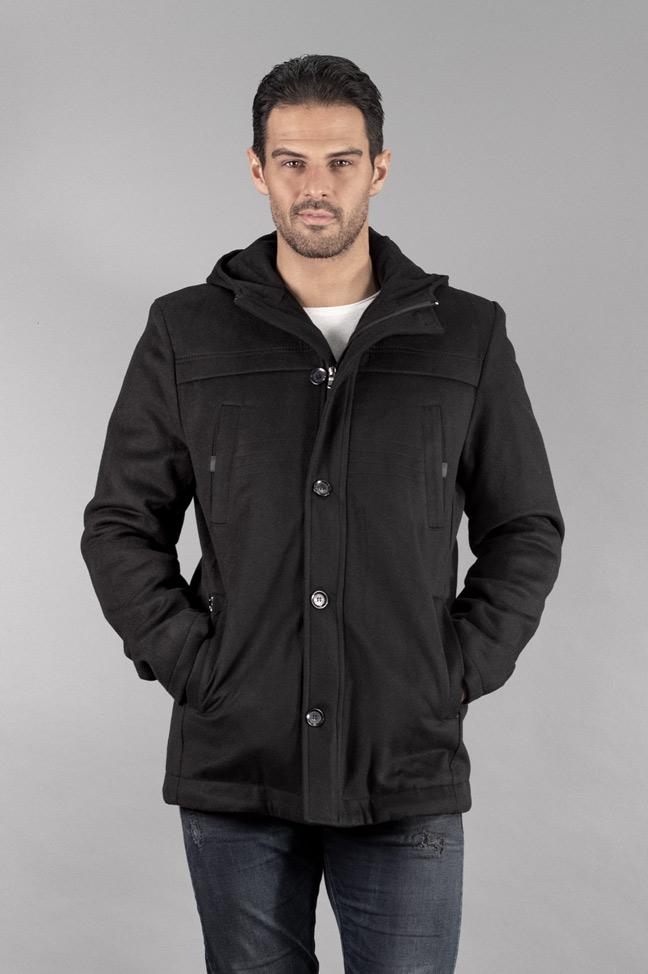Muški kaput - 339 - Crna