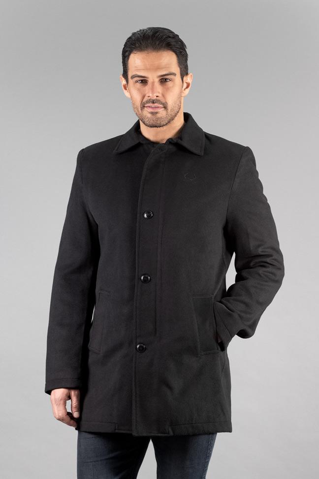 Muški kaput - 588 - Crna