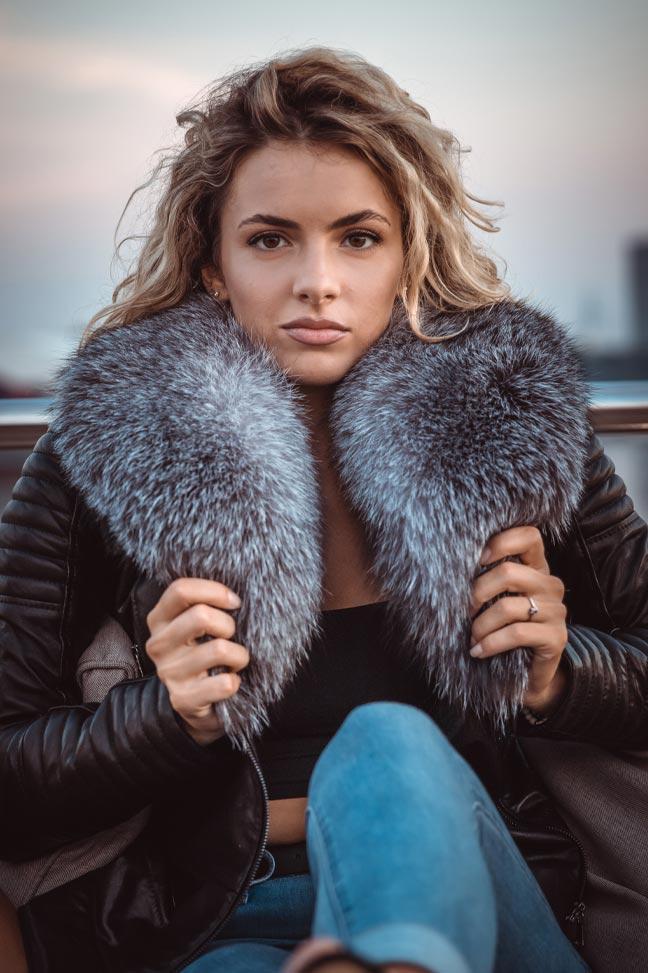 Ženske-kožne-jakne-Ženska-kožna-jakna-sa-krznom-Bella-Crna-krzno-polarne-lisice-1-min