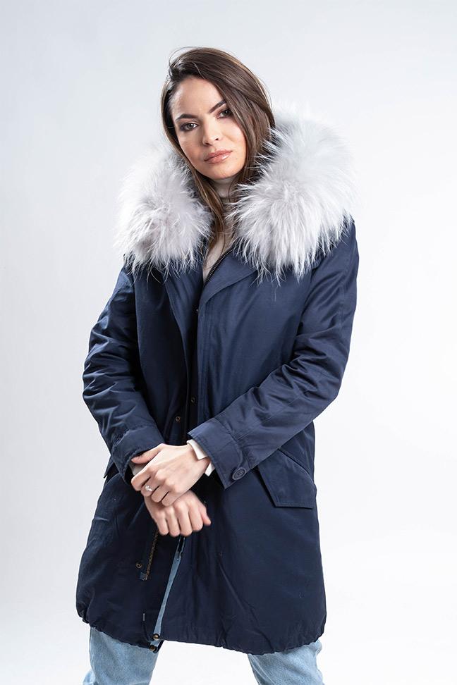 Ženska zimska jakna - Parka - Fratteli Dorotea - Teget