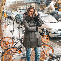 Nina Radulović nosi La Force monton braon boje