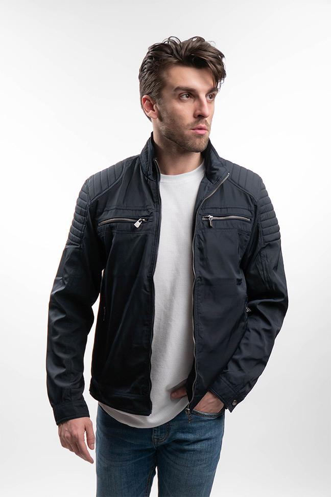 Muška prolećna jakna - Sportska i Casual - Invento Bon - Teget