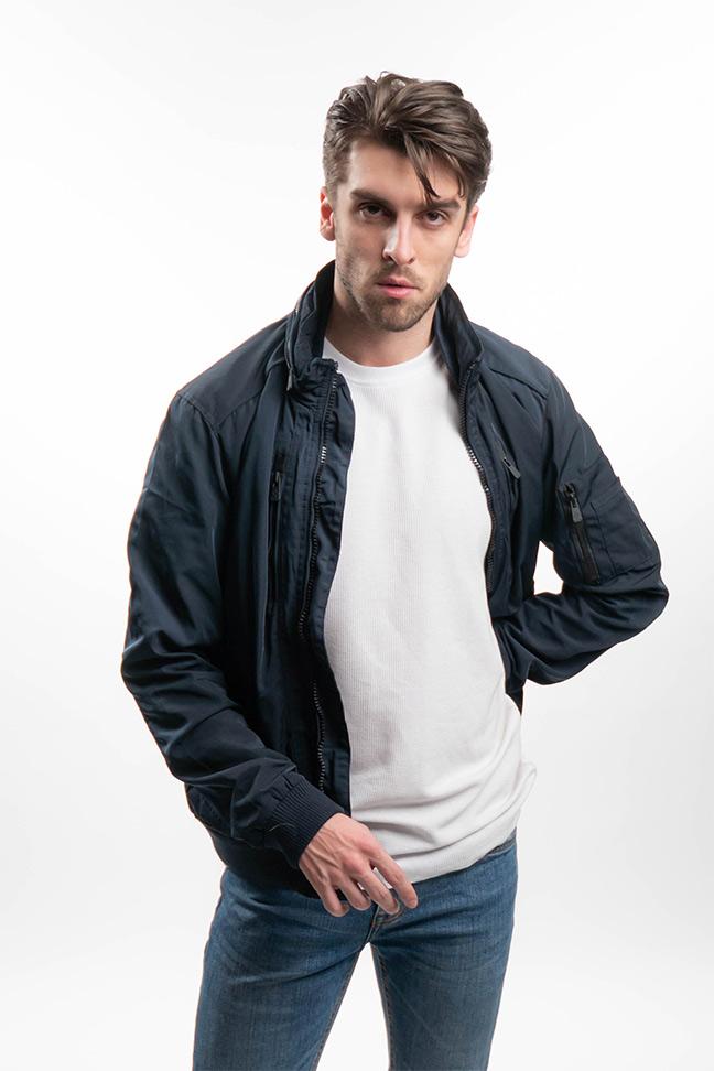 Muška prolećna jakna - Sportska i Casual - Invento Capri - Teget