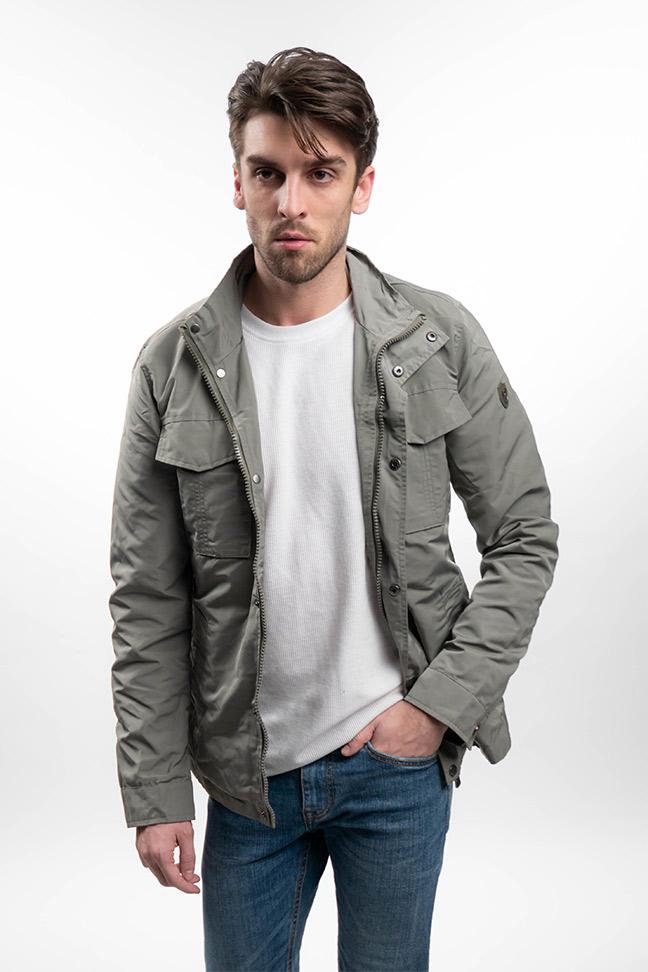 Muška prolećna jakna - Sportska i Casual - Invento Perry - Zelena
