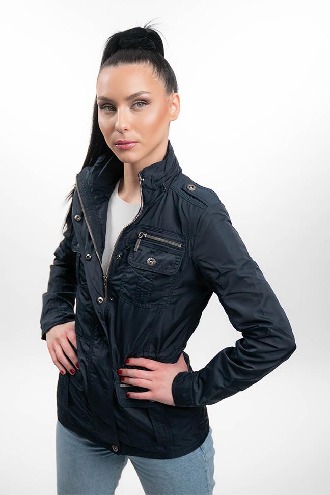 Ženska prolećna jakna - Sportska i Casual - Invento Cassie - Teget