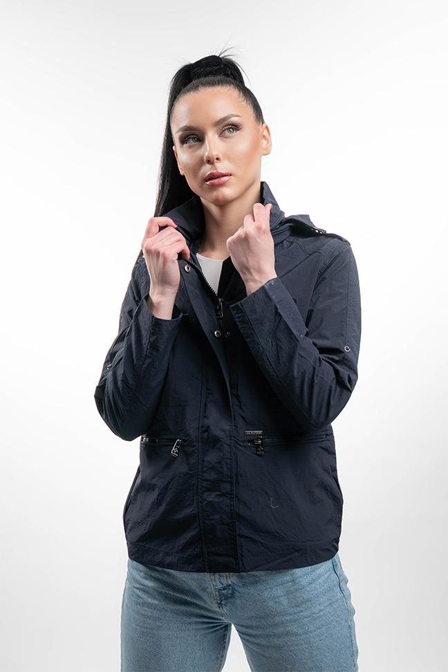 Ženska prolećna jakna - Sportska i Casual - Invento Glory - Teget